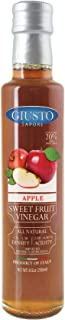 Sponsored Ad - Giusto Sapore Apple Sweet Fruit Italian Vinegar 8.5oz - Premium All Natural Infused Gluten Free Gourmet Bra...