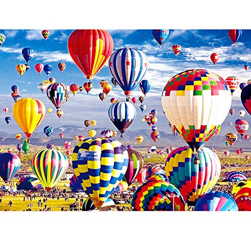 VATOS Puzzles for Adults 1000 Piece | Jigsaw Puzzle | Hot Air Balloon Puzzles | Fire Balloon Puzzle...