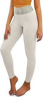 con stampa a farfalla yoga Leggings da donna a 3//4 Lulupi lunghezza al ginocchio sportivi jogging