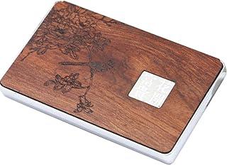 Oiseau et motif de fleur Nom de l'entreprise Titulaire de carte Boîte à carte de nom