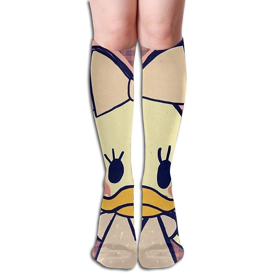 月進捗ボールキレイミスデイジーチューブストッキングレディース冬暖かい膝ハイソックスブーツ靴下