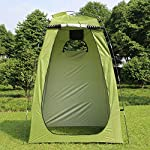 Explopur Camping Tent for Camping Biking Toilet Shower Beach 6