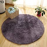 Carpet, Maserfaliw Home Decor Soft Bath Bedroom Non-Slip Floor Shower Rug Yoga Plush Round Mat - #13 40cm40cm, A Must-Have Household Item, A Gift for A New Home.