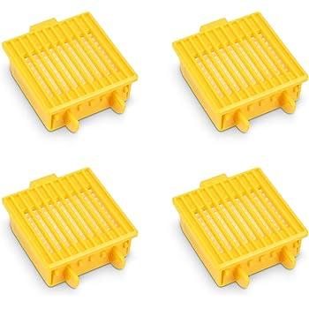 kwmobile Set de 3 filtros de Repuesto compatibles con Roomba ...