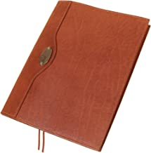 product image for Col. Littleton No. 30 Leather Composition Notebook | Refillable | Brown