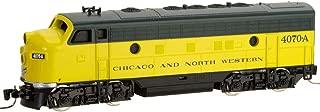 Micro-Trains MTL Z-Scale EMD F7A Diesel Loco - Chicago North Western CNW #4070-A