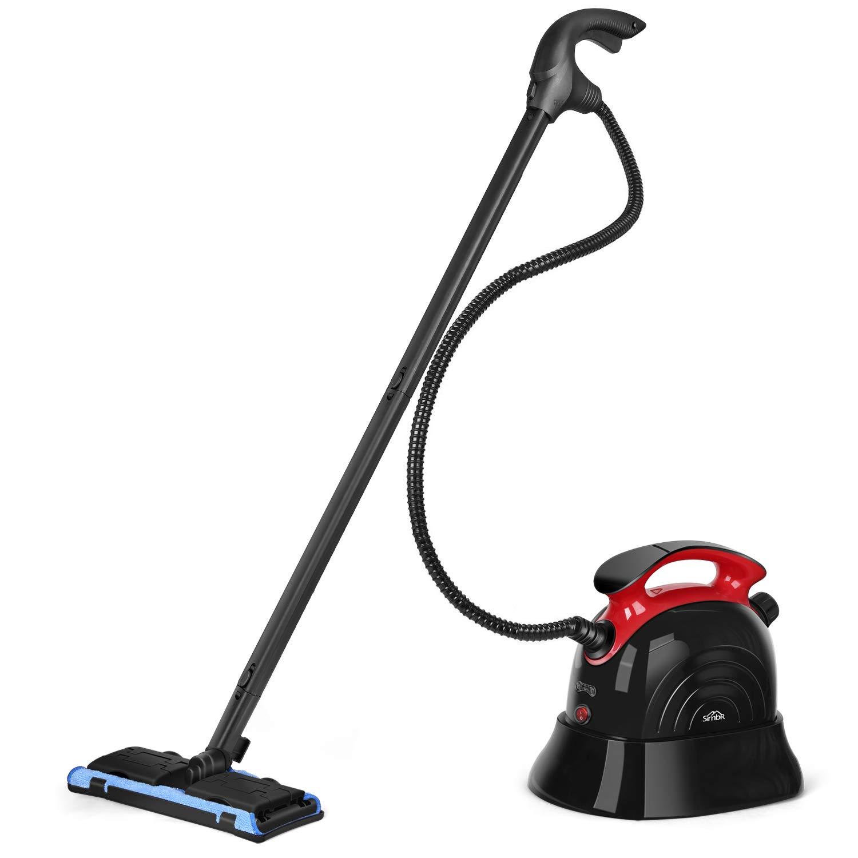 SIMBR Limpiador Vapor Manual Vaporeta Capacidad de 1100ml y Potencia de 1500W, 4.5 Bar, 13 Accesorios para Pisos, Alfombras Y Ventanas: Amazon.es: Hogar