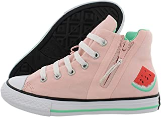 CTAS Chuck Taylor All Start Zip HI Junior Vapor Pink/White/Green Glow Watermelon