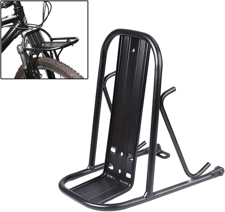 Hanbaili 自転車用フロントラックホルダーアクセサリー カーゴ 荷物 サイクリング