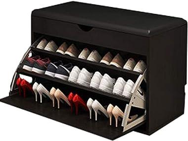 Shoe Bench Organizer Shoe Racks Shoe Cabinet Bench Shoe Storage Bench with Cushion Coat and Shoe Storage White Shoe Storage B