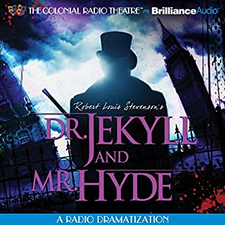 Robert Louis Stevenson's Dr. Jekyll and Mr. Hyde (Dramatized) audiobook cover art