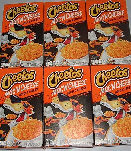Cheetos Mac 'N Cheese - San Francisco Mall Bold Cheesy 5.9 pack Flavor Jacksonville Mall Box oz 6