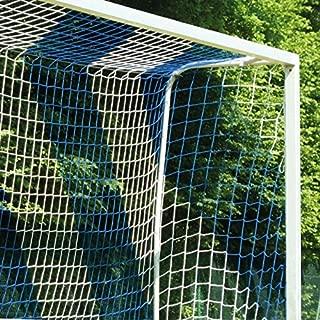 Fußballtornetz Tornetz Fußballnetz 7,5 x 2,5 m 0,80 // 1,50 m Schwarz 3 mm