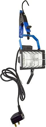 Tools-Silverline Hanging Work Light Floodlight Halogen Adjustable Portable Garage 150W SIL03