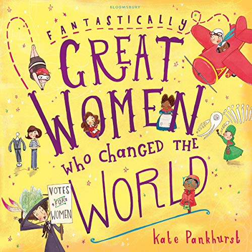 Fantastically Great Women Who Changed the World audiobook cover art
