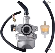 Gekufa 0454886 Carburetor Carb with Fuel Filter & Fuel Line Fit for 2007-2014 Polaris Sportsman 90 Outlaw 50 90