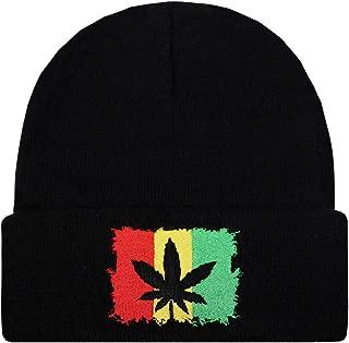 Sk901 Rasta Style Beanie Hats - 1810 Kush Flag
