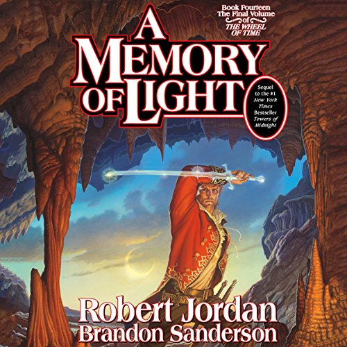 A Memory of Light     Wheel of Time, Book 14              By:                                                                                                                                 Robert Jordan,                                                                                        Brandon Sanderson                               Narrated by:                                                                                                                                 Michael Kramer,                                                                                        Kate Reading                      Length: 41 hrs and 47 mins     1,499 ratings     Overall 4.8