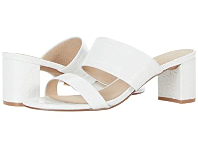 42 GOLD Liya (White Croco Leather) Women