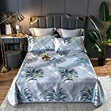 KIKIGO Estera Antideslizante de Salud,esteras de Verano,Three-Piece Summer Mat, Single Bed Set, foldable-A09
