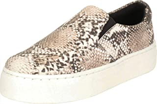 Cambridge Select Women's Round Toe Stretch Slip-On Chunky Platform Fashion Sneaker