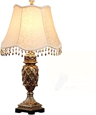 AILI JIAHONG Lámpara de Mesa Creativa Antigua de la ...