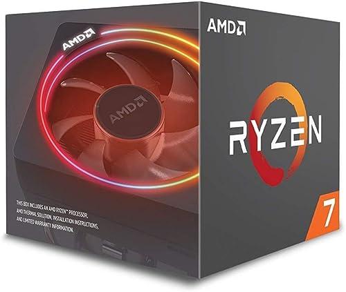 AMD Ryzen 7 2700X Processor with Wraith Prism LED Cooler 8 AM4 YD270XBGAFBOX