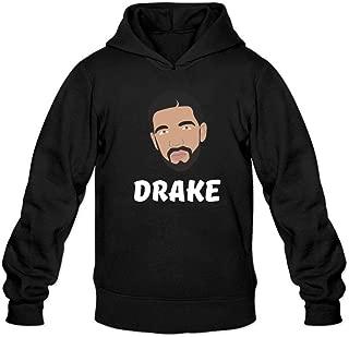 Ivantop Drake 2016 fashion Men's Hoodie Sweatshirt Black