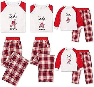 Matching Family Pjs Christmas Entire Family Jammies Cotton Pajamas Sets Best Kids Sleepwear Xmas A12