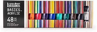 مجموعة طلاء اكريليك بيسكس 5 انبوبات من ليكويتكس 48x22ml BS101048