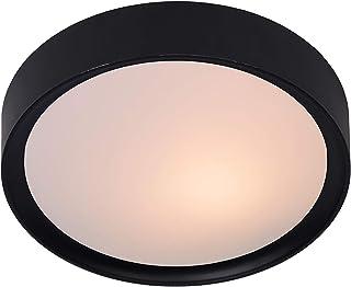 Lucide LEX - Plafonnier - Ø 25 cm - Noir