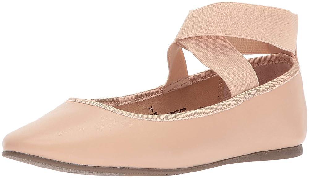 スペイン肉ホース[Topline] Womens ALSO Almond Toe Ankle Wrap Slide Flats [並行輸入品]