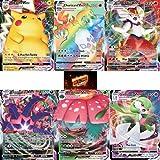3 Pokemon Vmax Cards - No Duplicates - Rare Pokemon Card Packs - Rainbow Rare Pokemon Cards - Pokemon Cards Vmax Pokemon Packs - Rare Vmax Pokemon Cards + Blazing Cards Sticker