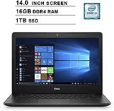 2019 Newest Premium Dell Inspiron 14 3000 Laptop (Intel Core i3-8145U up to 3.9GHz, 16GB DDR4 RAM, 1TB SSD, Intel UHD 620, WiFi, Bluetooth, HDMI, Windows 10 Home, Black)