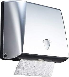 Toilet Paper Holder Stand حاملي ورق التواليت الفضة جدار شنت البلاستيك متعدد الأنسجة حامل التجاري للمكاتب مطبخ الحمام Toile...