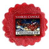 YANKEE CANDLE Christmas Eve Tart da Fondere, Cera, Red, 2x5.7x5.5 cm
