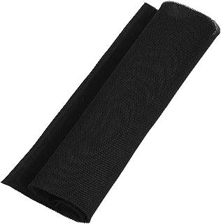 Zerone 140cm x 50cm Speaker Grill Cloth Fabric Dustproof Speaker Mesh Cloth Protective Grille Cover for Stereo Audio Speaker(Black)