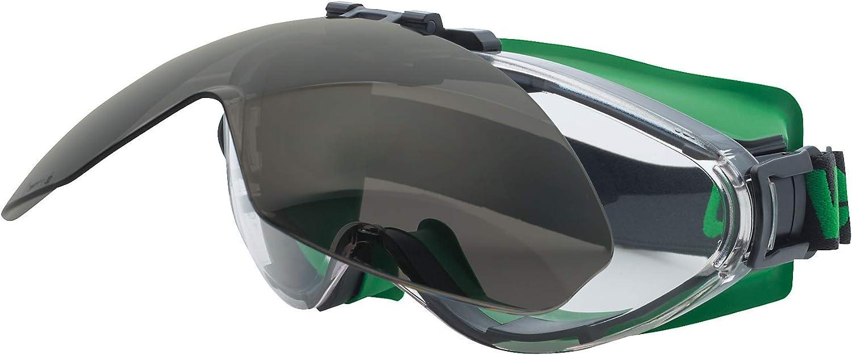 Uvex 9302-043 - Máscara de protección para soldadores, línea ultrasónica Flip-up, de policarbonato