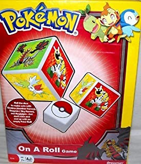 Pokemon On A Roll Game, Giratina, Shaymin & Regigigas, Red Box
