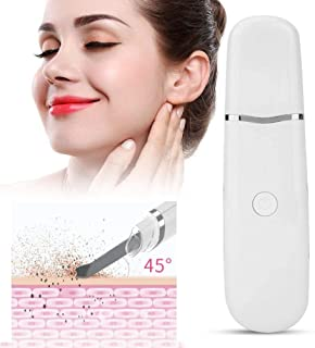 Face Pores Cleaner, EMS Facial Skin Scrubber Remove Blackheads Pore Vacuum SPA Gentle Peel Dermabrasion Exfoliating Remove Blackheads Rejuvenation Skin Cleaner lsmaa