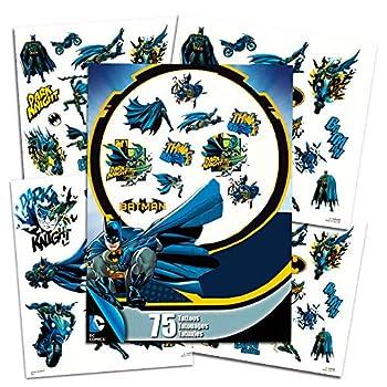 Trends Int DC Comics Batman Temporary Tattoos - Pack of 75