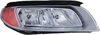 DEPO 373-1116R-AS1 Headlight Assembly (VOLVO S80/XC70 08-11/V70 08-10 ASSEMBLY HALOGEN TYPE CHROME BEZEL PASSENGER SIDE)