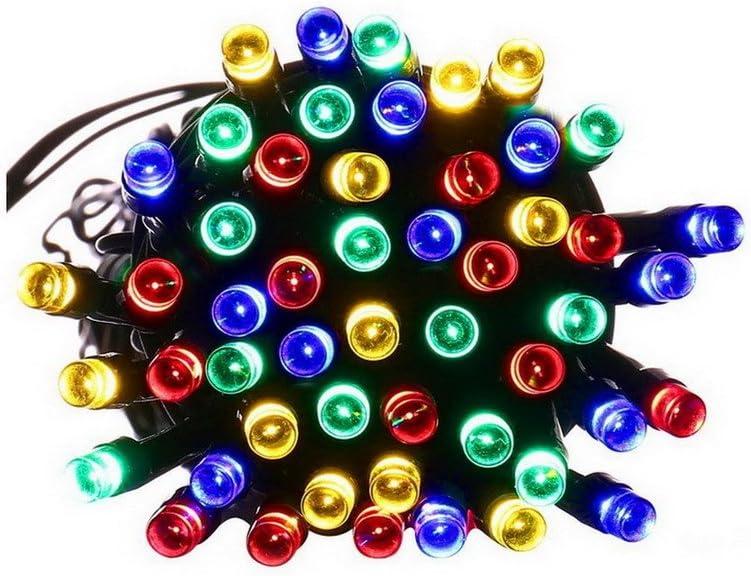 ACMEDE LED Solar lichterkette,Lichterkette für Innen/Außen,100 LEDs 17m,Wasserdicht IP65,Lichterkette warmweiß Bunt