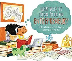 Screenshot of the cover of the book What Does It Mean to Be an Entrepreneur?
