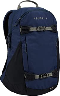 Burton Snowboards Unisex Dayhiker 25L Luggage, Mood Indgo Ripstop Cordura, Dimensions: 48.5cm x 30.5cm x 18cm, Volume: 25L, Durably Constructed