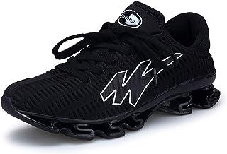 GBZLFH Zapatos para Correr para Hombres, Zapatos Deportivos Casuales de Malla para Hombres Que absorben los Golpes y Son T...