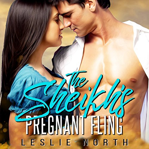 The Sheikh's Pregnant Fling audiobook cover art