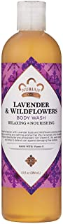 Nubian Heritage Body Wash, Lavender and Wildflowers, 384 ml