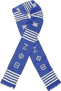 Zeta Phi Beta Sorority Graduation Kente Stole Sash [Blue - 72