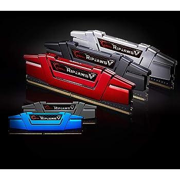 G.SKILL 8GB (2 x 4GB) Ripjaws V Series DDR4 PC4-22400 2800MHz Intel Z170 Platform/Intel X99 Platform Desktop Memory Model F4-2800C15D-8GVRB